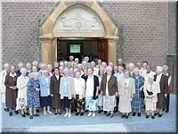 Bezoek Zusters Franciscanessen uit Veghel